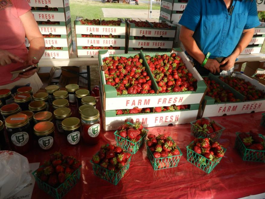 Poteet strawberries